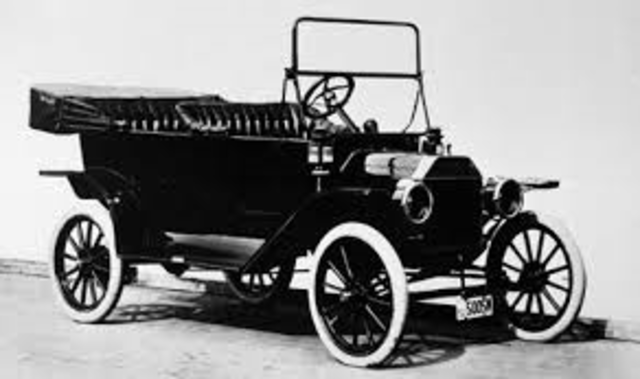 The First Model T Automobile