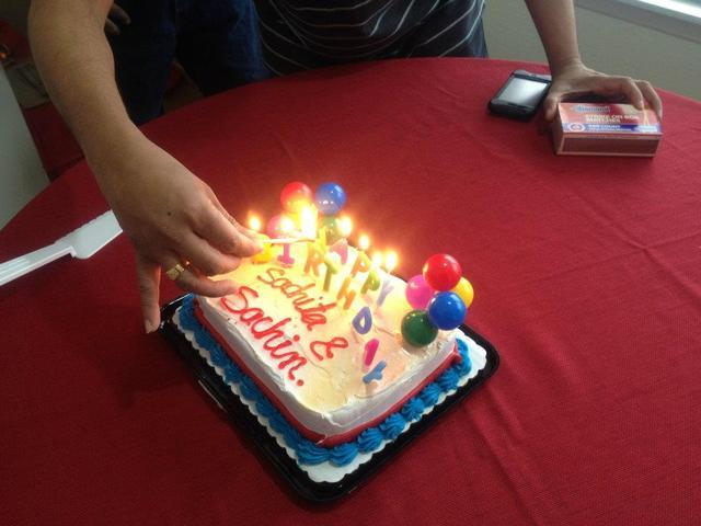 sachita 6th birthday