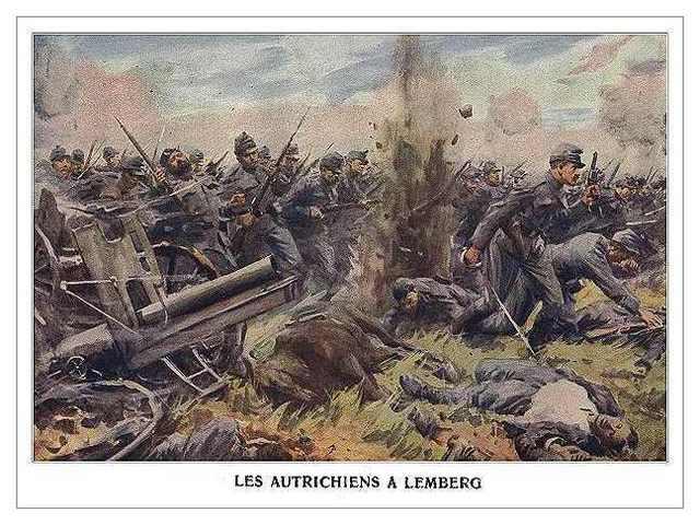 Austria Hungary declares war