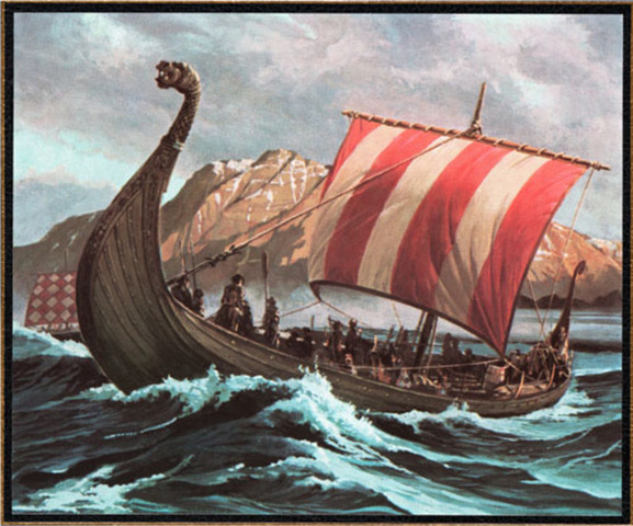 Invasion of Western Europe from the Vikings