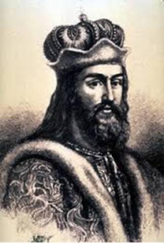 Vladimir I converts to Christianity