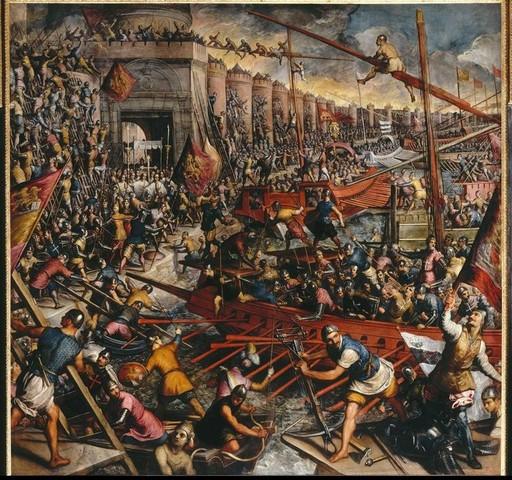 4th Crusade (sacked Constantinople)