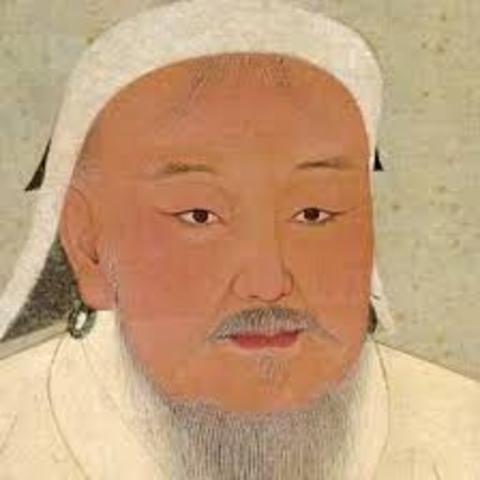 Chinggis Khan elected as Grand Khan