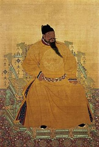 Yonglo becomes Ming Emperor