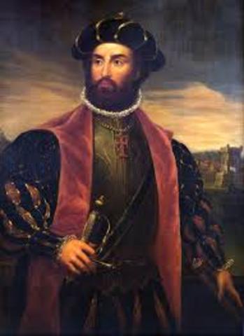 Vasco de Gama lands in India