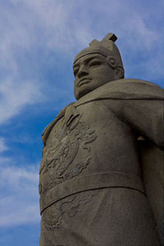 Zheng He captains his first vooyage