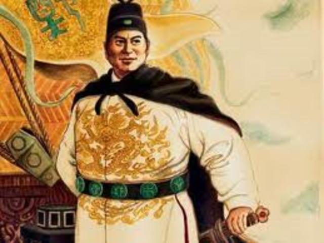 Yolongo becomes Ming Emperor