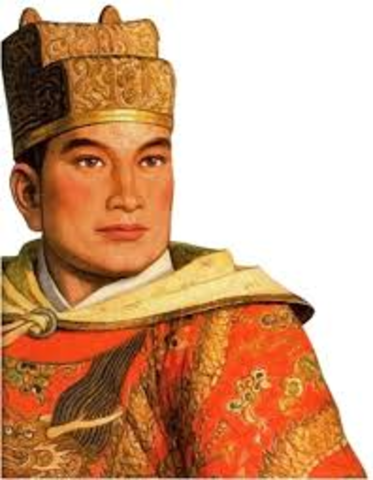 Zheng He captains his first voyage