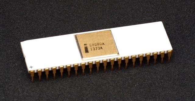 8-ми разрядный процессор первого поколения
