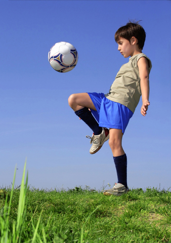 Start playing soccer