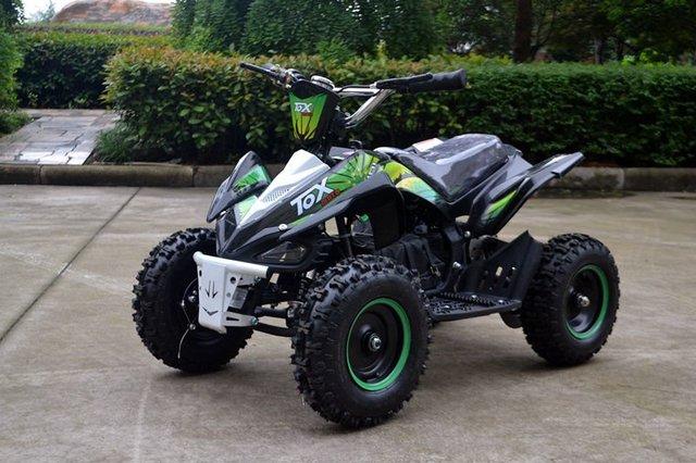 Own a mini electric ATV