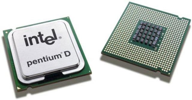 Первый двухядерный процессор
