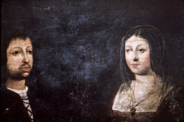 Ferdinand and Isabella end war with Muslims
