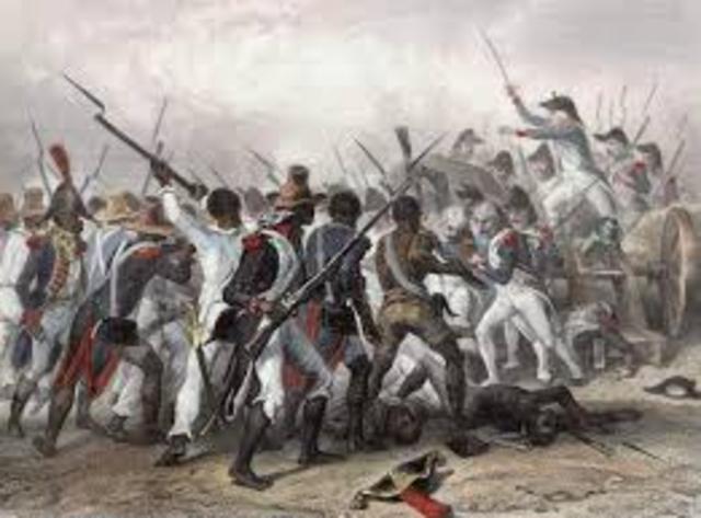 First slave revolt in Hispaniola
