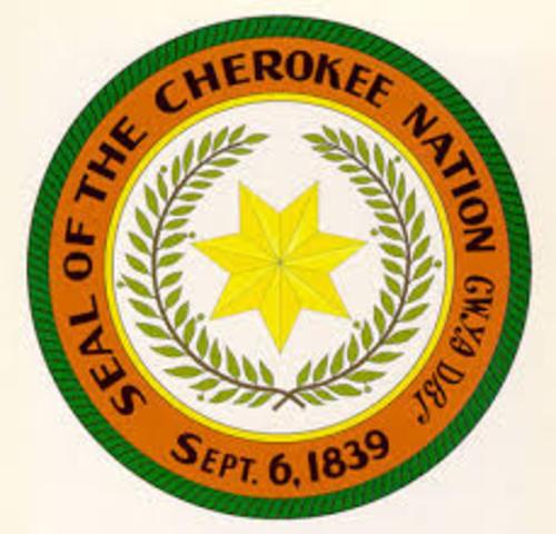 Cheerokee Nation V Georgia