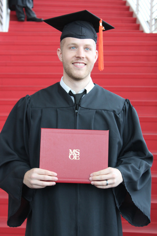 Graduating from MSOE with Master Degree