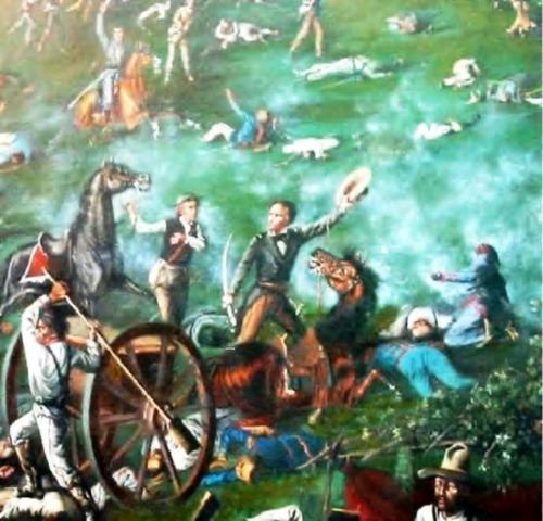 Santa Anna reconquista San Antonio Béjar.