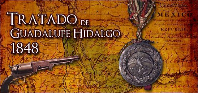 Se firma el tratado de Guadalupe Hidalgo.