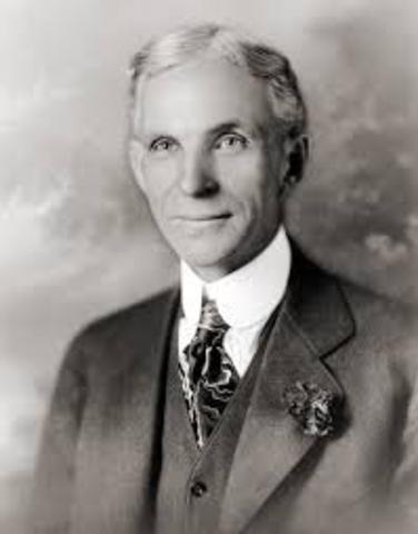 Línea de ensamblaje - Henry Ford