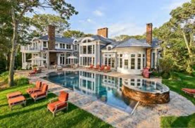 Own multiple houses.