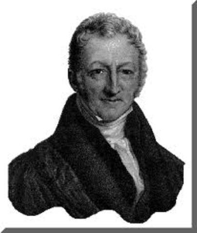 Ensayo sobre el principio de población del economista británico Thomas Robert Malthus