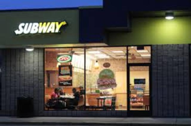 Buy a Subway restaurant