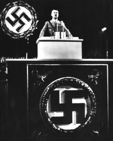 Hitler's speech