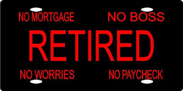 Retire from work