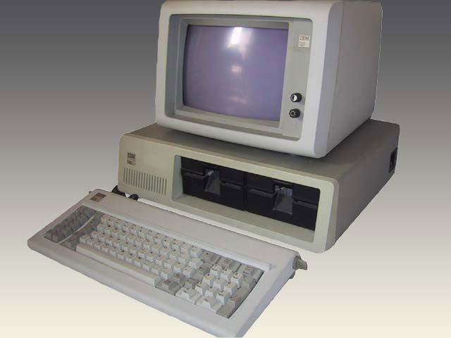 IBM PC model 5150.