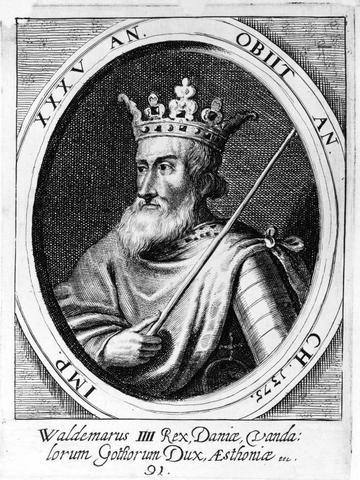 Valdemar Atterdag på tronen