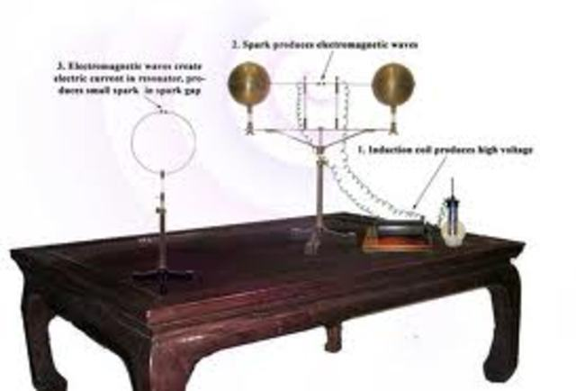 first radio waves