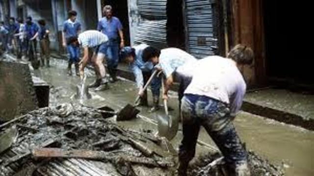 Inundaciones en toda Bizkaia