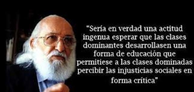 """Paulo Freire publica """"Pedagogía del Oprimido"""""""
