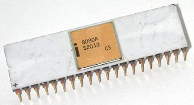 """Первый """"классический"""" процессор"""