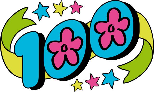 """Win Kindergarten """"100 Days of School Poster Contest"""""""