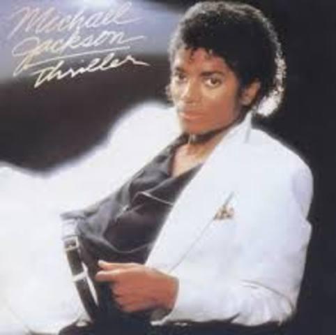 es publica el disc Thriller