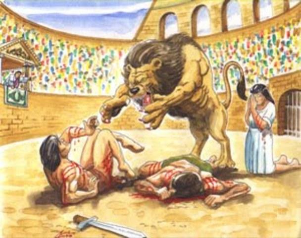 Llegado de los romanos. Siglo II