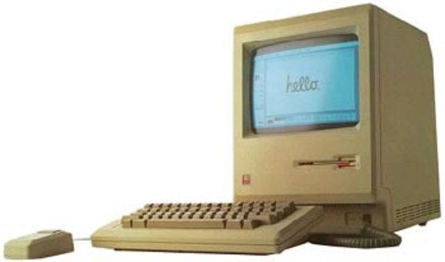 выпущен первый Mac и Macintosh 512K