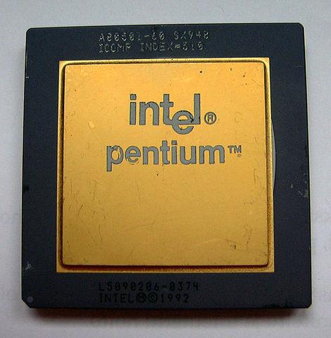 Выпущен процессор Pentium