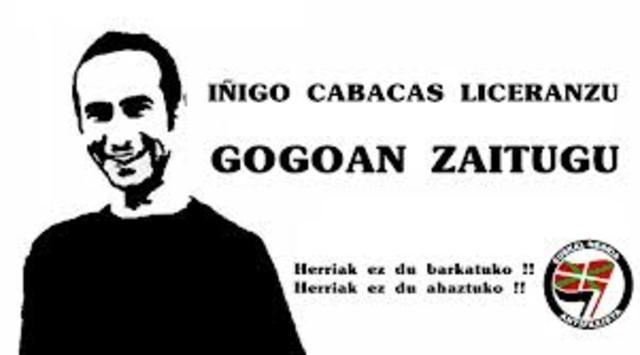 Muerte de Iñigo Cabacas
