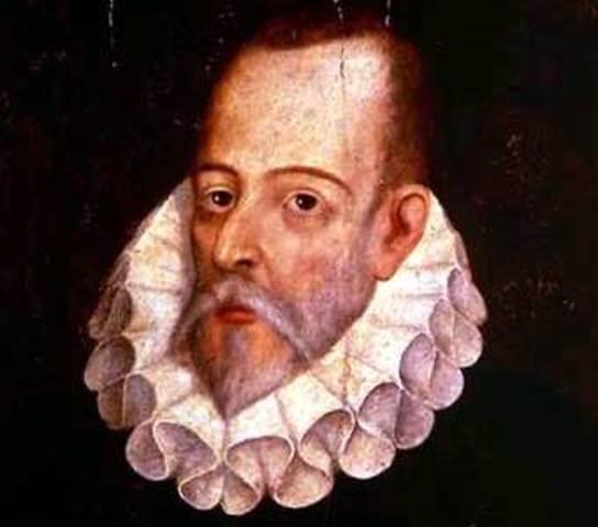 Miguel Cervantes: Escritor famoso de España