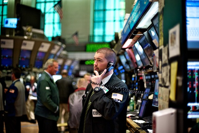 I want to be working in the New York Stock Exchange