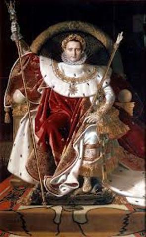 Napoleon se corona emperador
