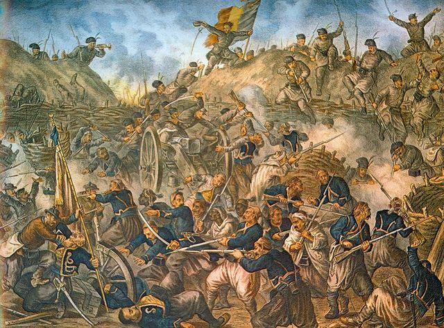 Napoleon  apoya a Rusia y Austria