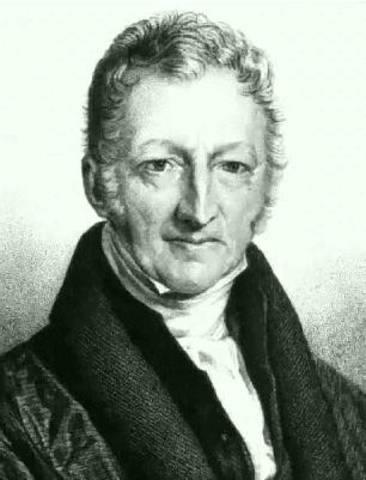 """Malthus publica """"Ensayo sobre el principio de la población"""""""