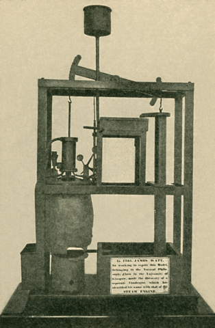 Newcomen invents the first practical steam engine.