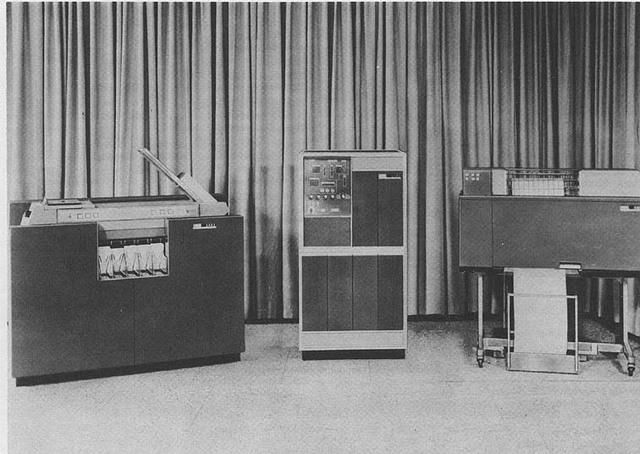 SEGUNDA GENERACION DEL COMPUTADOR (IBM 1401)