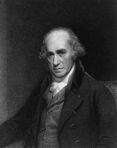 James Watt improves the steam engine.