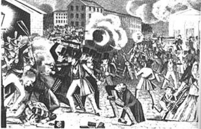 Luddite Riots begin.