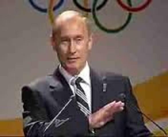 Sochi Bid's for  Winter Olympics 2014
